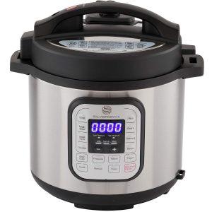 Silver Onyx Pressure Cooker