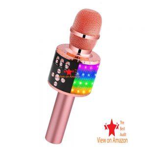 BONAOK Wireless best kids microphone