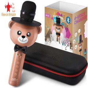 KaraoKing Wireless best kids microphone