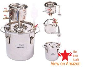 New 5 Gal stainless steel pressure cooker with thermometer