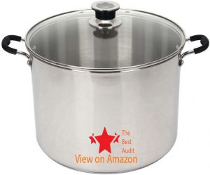 Roots stainless steel pressure cooker with thermometer