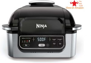 Ninja stainless steel pressure cooker with thermometer