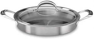 KitchenAid 5-Ply Copper Core 3.5 quart Braiser with Lid - Stainless Steel